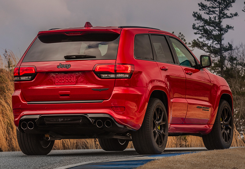 2018 jeep grand cherokee trackhawk specifications photo price information rating. Black Bedroom Furniture Sets. Home Design Ideas
