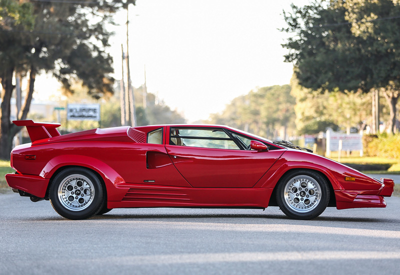 1988 lamborghini countach 25th anniversary specifications photo price information rating. Black Bedroom Furniture Sets. Home Design Ideas
