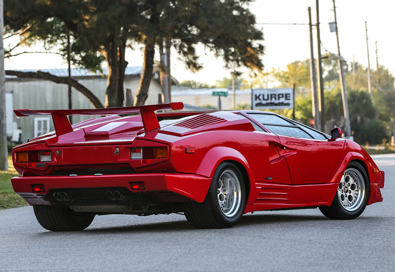 1988 Lamborghini Countach 25th Anniversary
