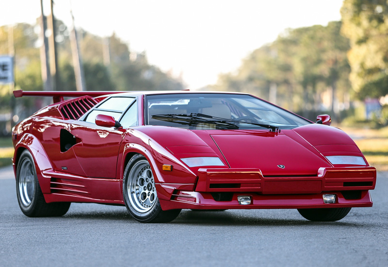 1988 Lamborghini Countach 25th Anniversary Specifications Photo