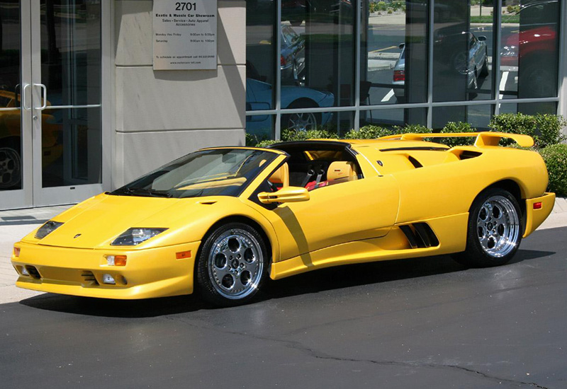 Superior 1999 Lamborghini Diablo VT Roadster