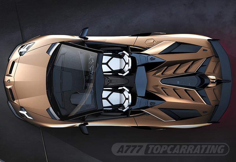 2019 Lamborghini Aventador SVJ Roadster , specifications