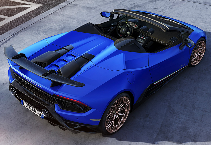 Mclaren Car Price >> 2019 Lamborghini Huracan Performante Spyder - specifications, photo, price, information, rating