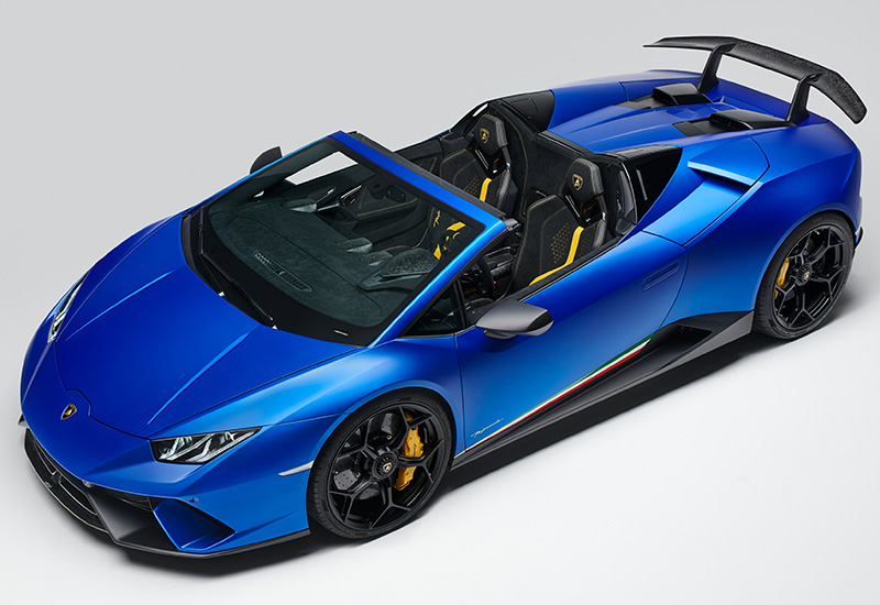2019 Lamborghini Huracan Performante Spyder Specifications Photo Price Information Rating