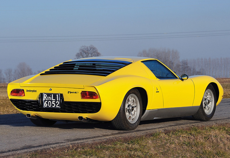 1967 Lamborghini Miura P400 Specifications Photo Price