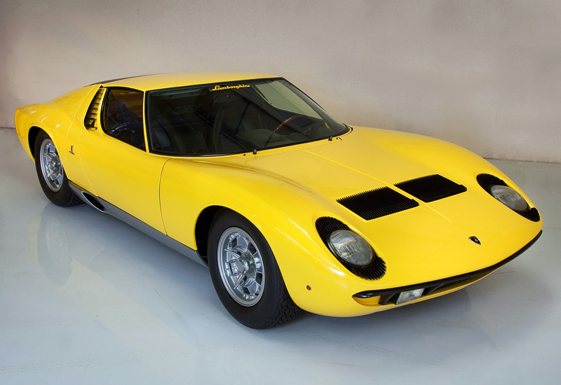1967 Lamborghini Miura P400 Specifications Photo Price