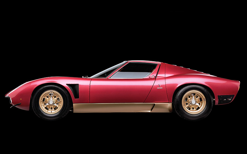 Lamborghini Countach Price >> 1971 Lamborghini Miura P400 SVJ - specifications, photo ...