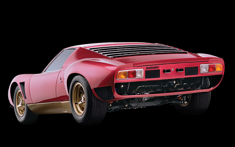 1971 Lamborghini Miura P400 Svj Specifications Photo