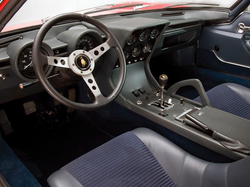 1971 Lamborghini Miura P400 Sv Specifications Photo
