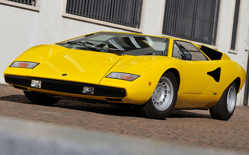 1974 Lamborghini Countach Lp400 Specifications Photo Price Information Rating