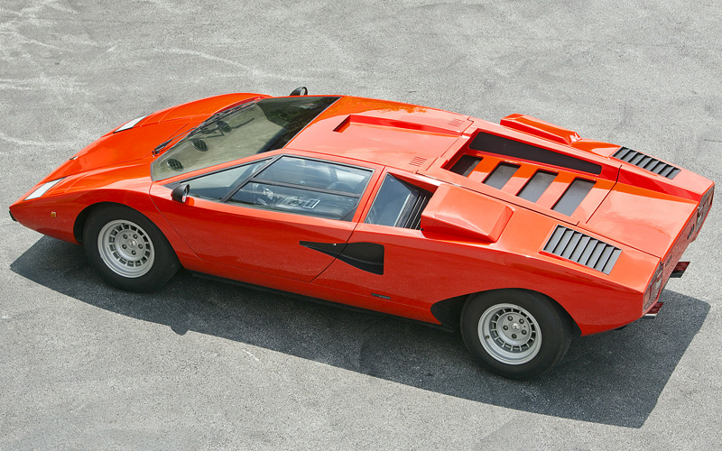 1974 Lamborghini Countach Lp400 Specifications Photo