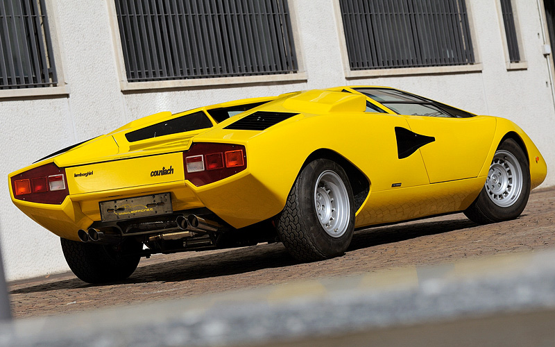 Lamborghini Miura Price >> 1974 Lamborghini Countach LP400 - specifications, photo, price, information, rating