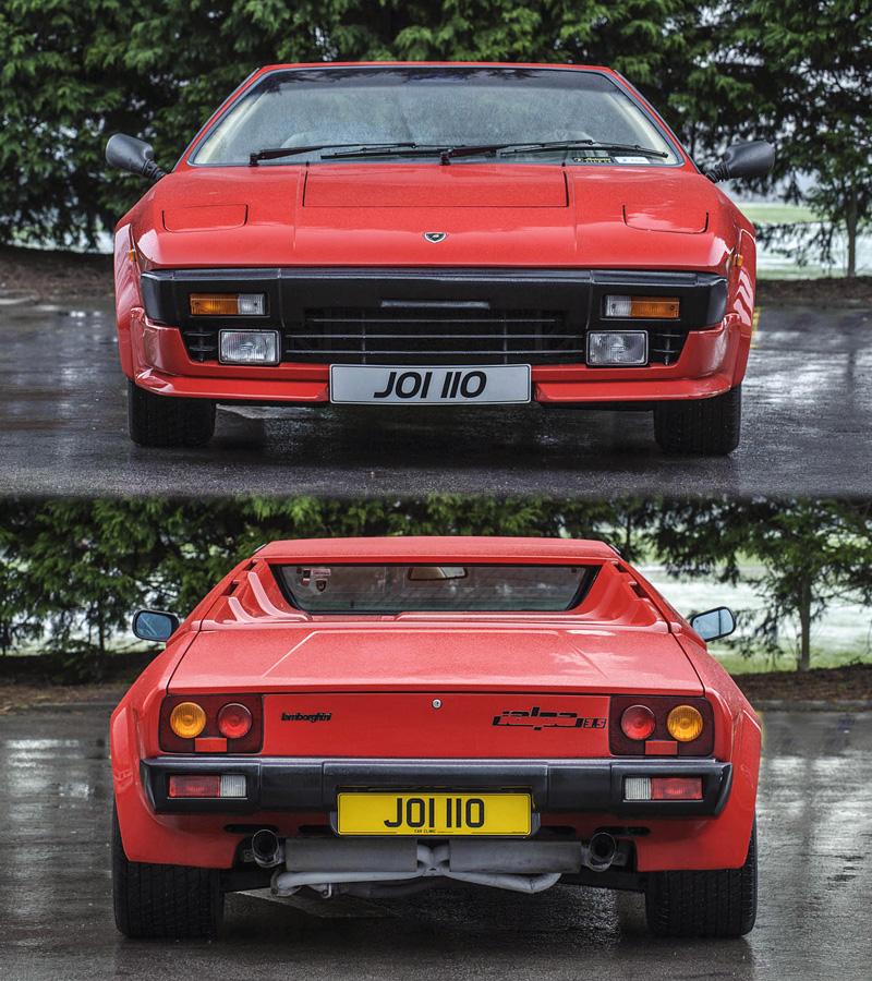 1982 Lamborghini Jalpa P350 Specifications Photo Price