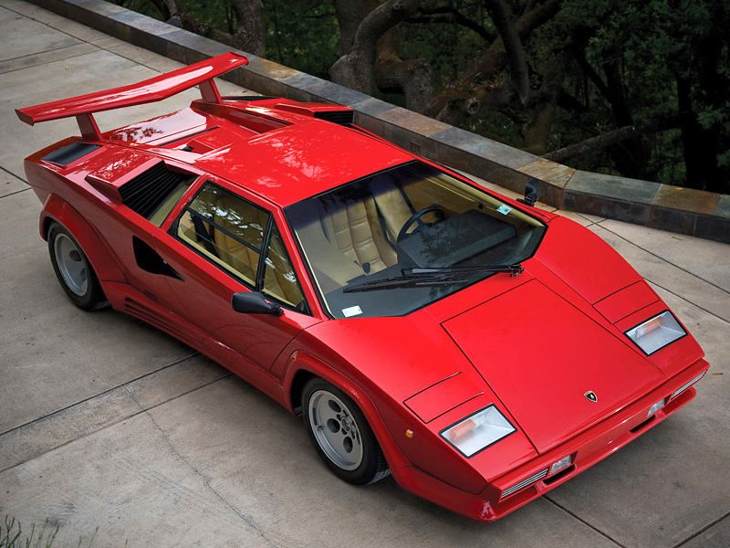 1985 Lamborghini Countach 5000qv Specifications Photo