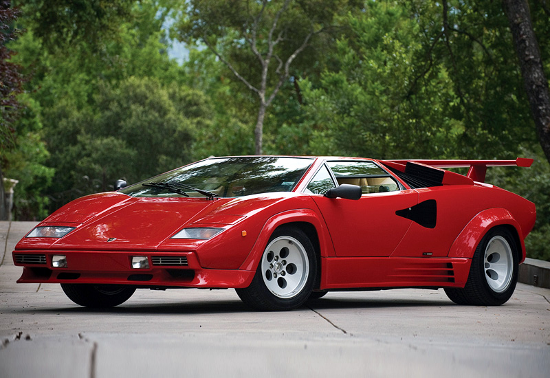 1985 lamborghini countach 5000qv specifications photo price information rating. Black Bedroom Furniture Sets. Home Design Ideas
