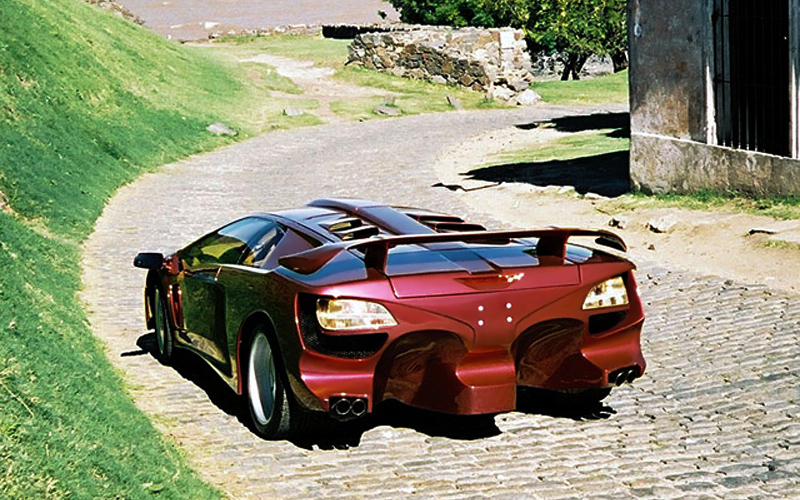 2000 Lamborghini Coatl Special Specifications Photo