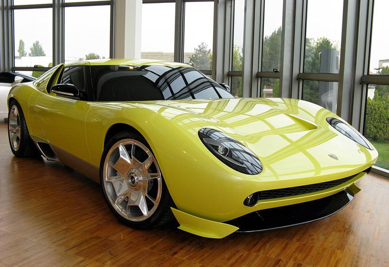 2006 Lamborghini Miura Concept Specifications Photo Price