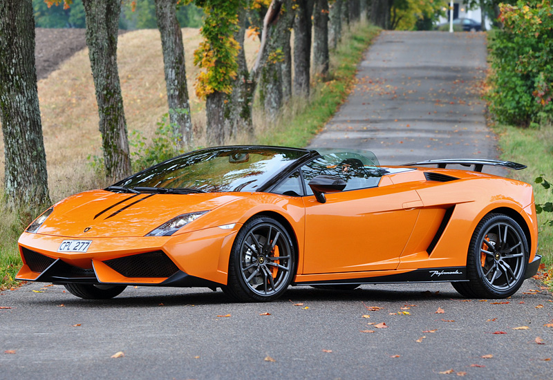2010 Lamborghini Gallardo Lp570 4 Spyder Performante