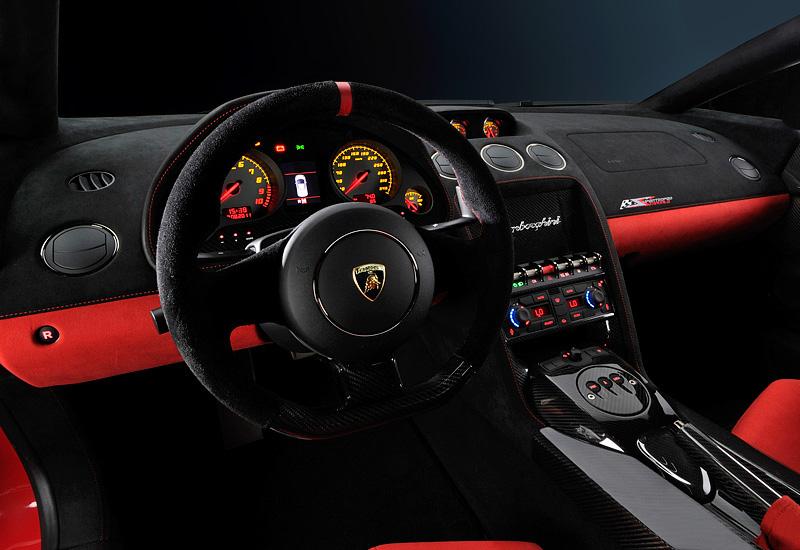 2011 Lamborghini Gallardo LP570-4 Super Trofeo Stradale