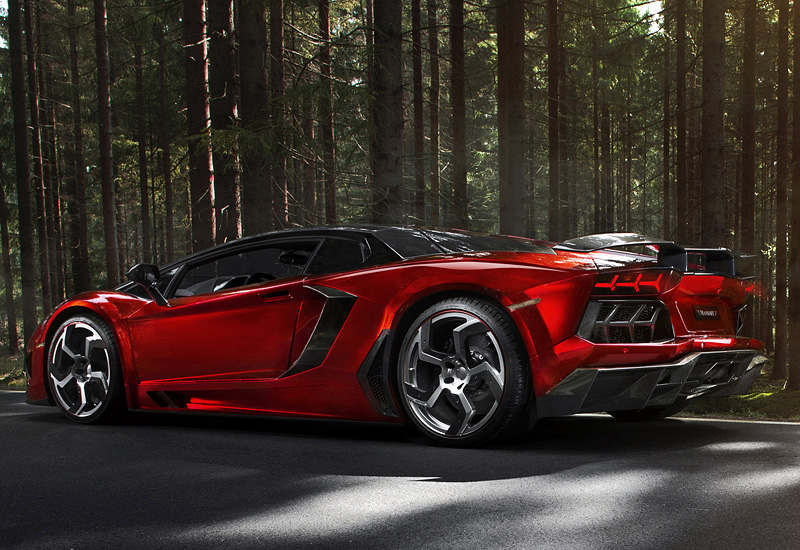 2012 Lamborghini Aventador Lp700 4 Mansory