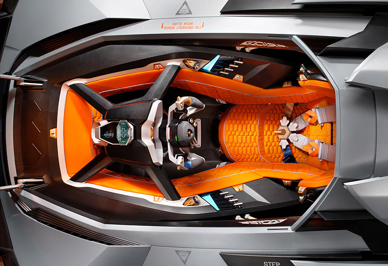 2013 Lamborghini Egoista Concept Specifications Photo Price