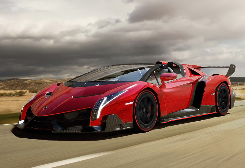 2014 Lamborghini Veneno Roadster Specifications Photo