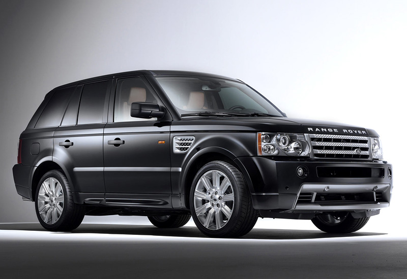 2005 land rover range rover sport supercharger specifications photo price information rating. Black Bedroom Furniture Sets. Home Design Ideas