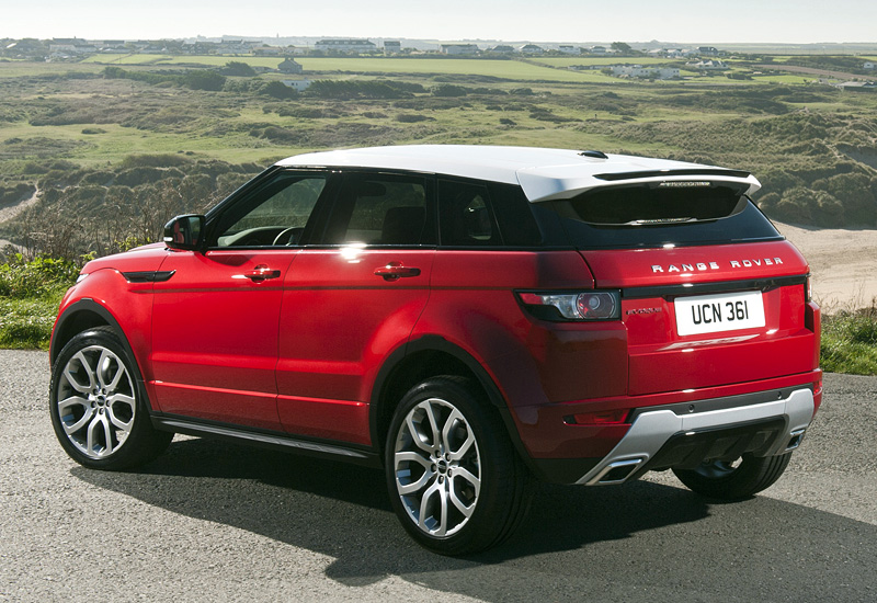 2011 Land Rover Range Rover Evoque Dynamic - specifications, photo, price, information, rating