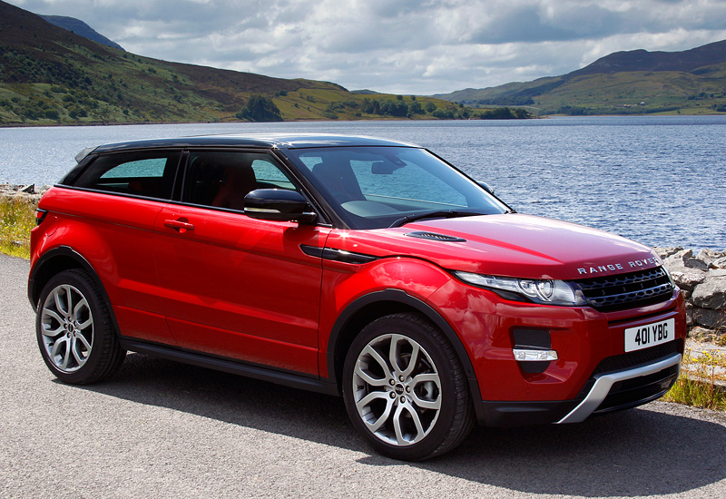 2011 Land Rover Range Rover Evoque Dynamic - specifications, photo ...
