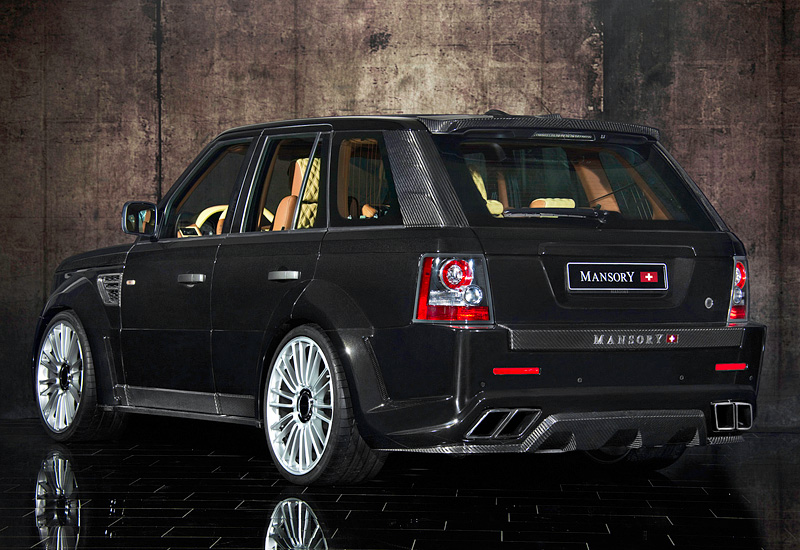 Range Rover Sport >> 2011 Land Rover Range Rover Sport Mansory - specifications