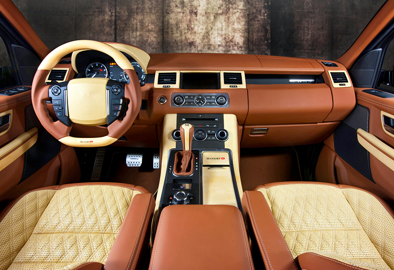 Range Rover Interior >> 2011 Land Rover Range Rover Sport Mansory - specifications ...