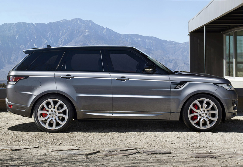 2013 land rover range rover sport v8 specifications photo price information rating. Black Bedroom Furniture Sets. Home Design Ideas