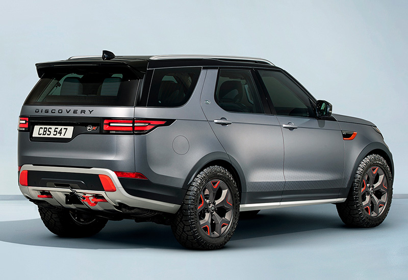 2018 Land Rover Discovery SVX - specifications, photo, price, information, rating