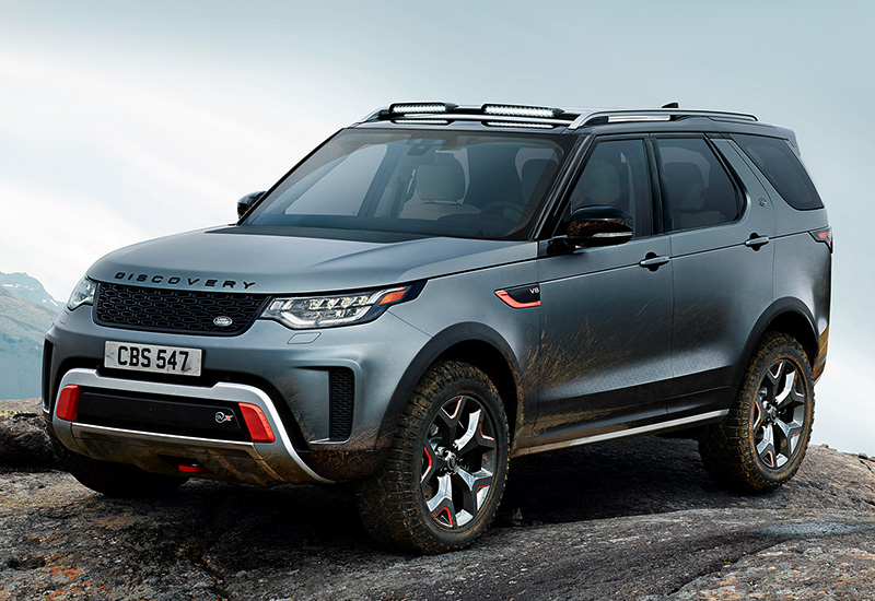 2018 land rover discovery svx specifications photo price information rating. Black Bedroom Furniture Sets. Home Design Ideas