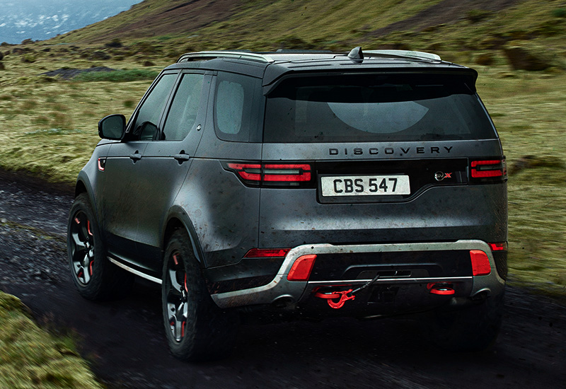 2018 Land Rover Discovery Svx Specifications Photo