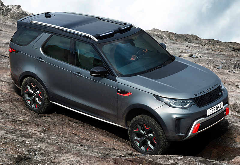 2018 Land Rover Discovery SVX - specifications, photo ...