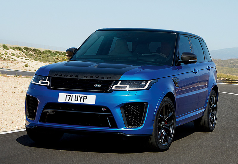 2018 Land Rover Range Rover Sport SVR - specifications ...