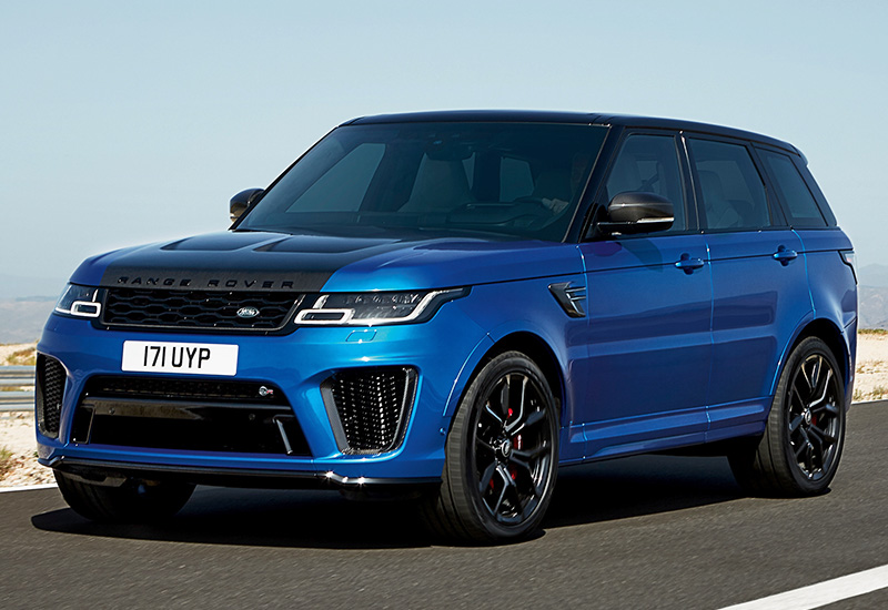 2018 land rover range rover sport svr specifications photo price information rating. Black Bedroom Furniture Sets. Home Design Ideas