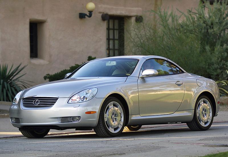 2001 Lexus SC 430 - specifications, photo, price ...