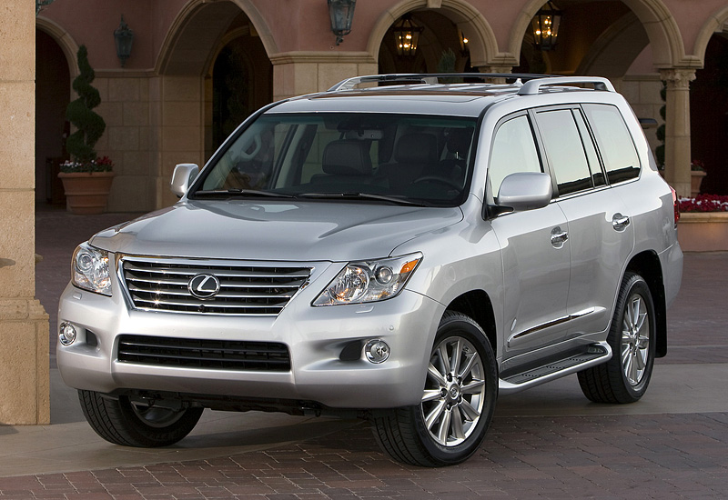 200 Kph To Mph >> 2008 Lexus LX 570 - specifications, photo, price ...