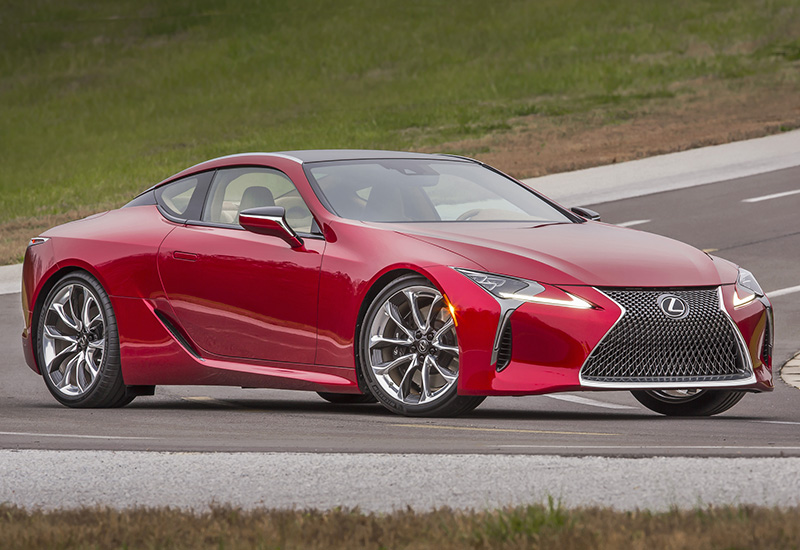 2017 Lexus LC 500 - specifications, photo, price ...