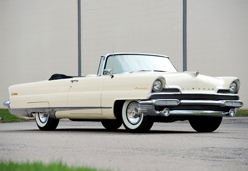 1956 Lincoln Premiere Convertible Specifications Photo