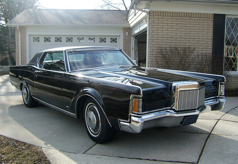1970 lincoln continental mark iii specifications photo. Black Bedroom Furniture Sets. Home Design Ideas