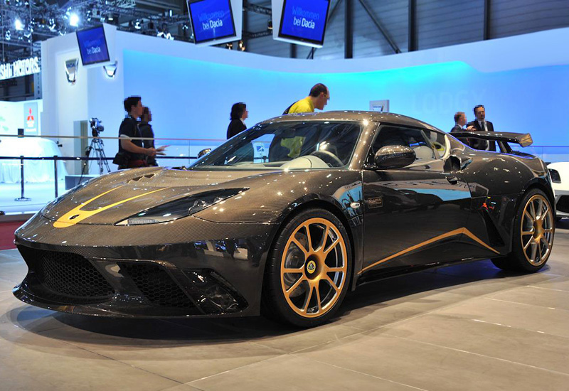 2012 Lotus Evora Gte F1 Team Limited Edition Specifications Photo Price Information Rating