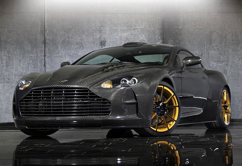 Top Car Ratings Aston Martin Db9 Mansory Cyrus Gold Edition