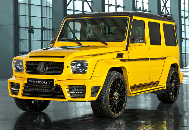 2013 Mercedes-Benz G 63 AMG Mansory Gronos
