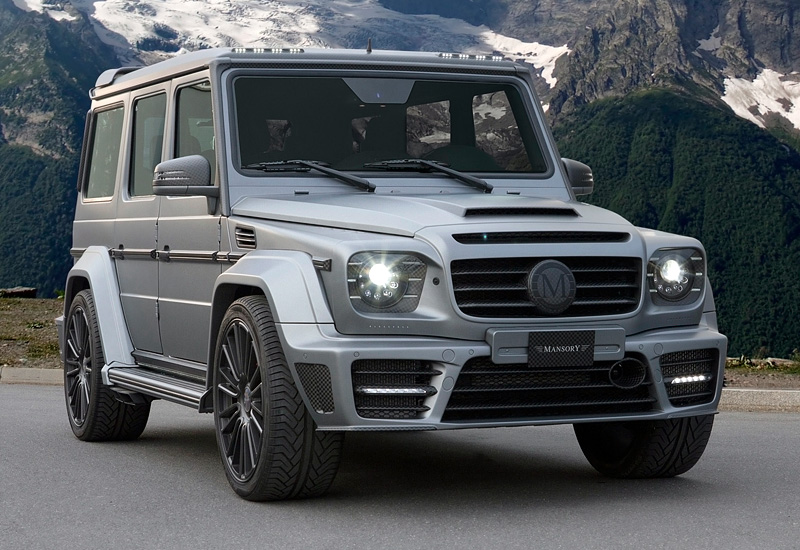 G 63 65 mansory gronos 2014 autos post for Mercedes benz g wagon v12