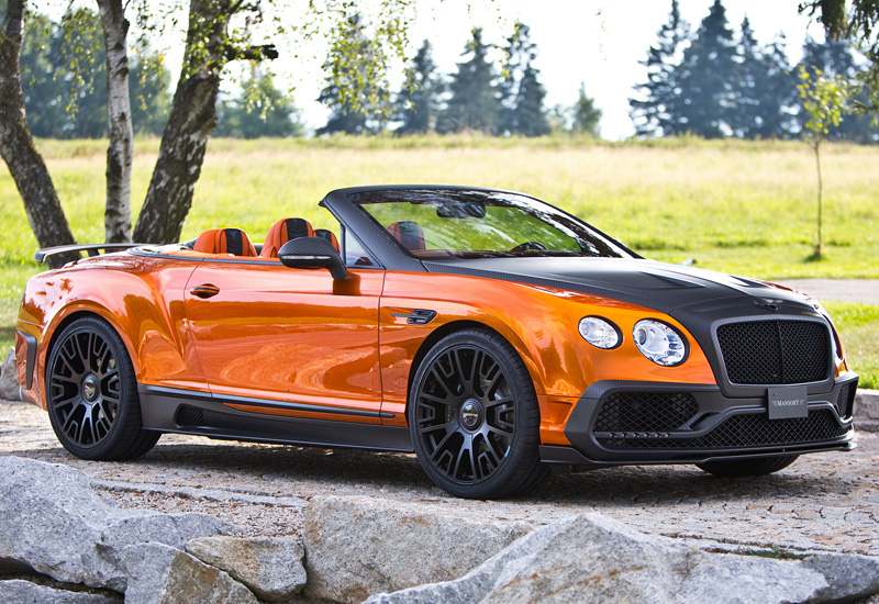 2015 Bentley Continental Gtc Mansory Specifications Photo Price