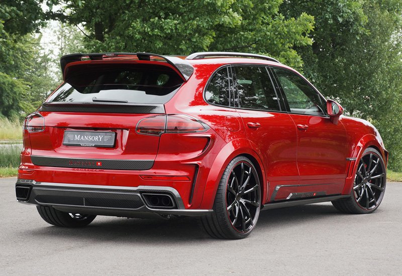 2015 Porsche Cayenne Turbo Mansory - specifications, photo ...