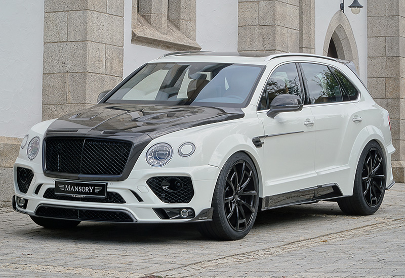 2016 bentley bentayga mansory specifications photo price information rating. Black Bedroom Furniture Sets. Home Design Ideas